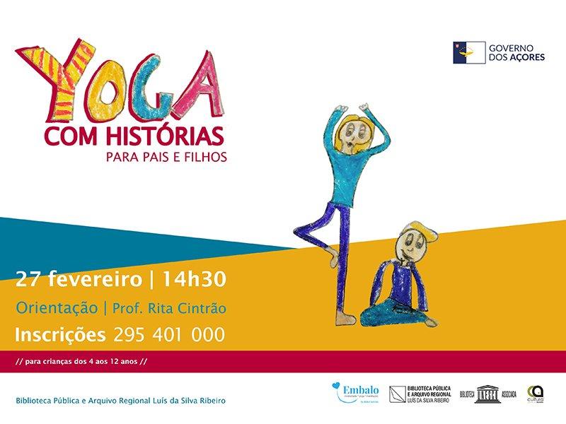Yoga com Histórias para Pais e Filhos