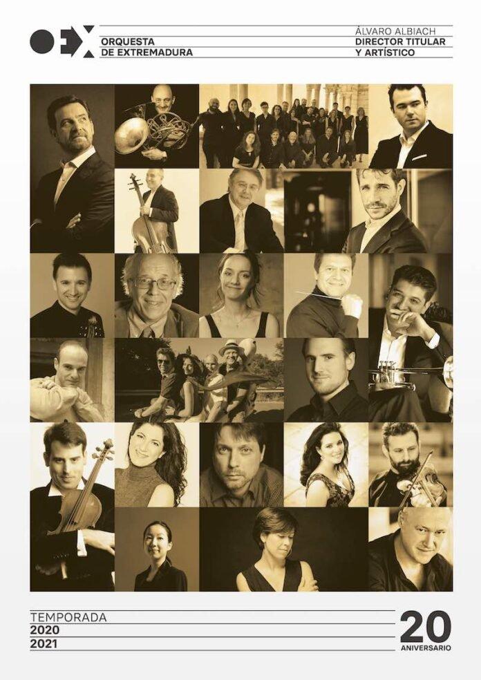 Conciertos de la Orquesta de Extremadura 2020-2021
