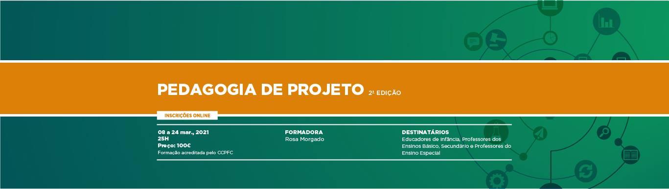 Formação e-learning: Pedagogia de Projeto 2ª Edição