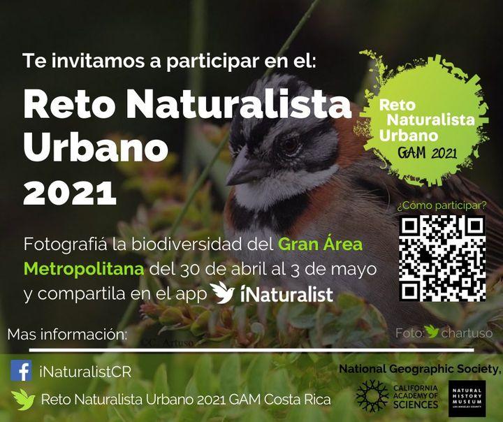 Reto Naturalista Urbano GAM 2021