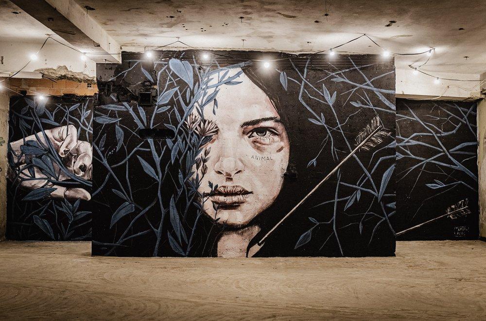 Construção de Mural de Arte Urbana // Mural 18