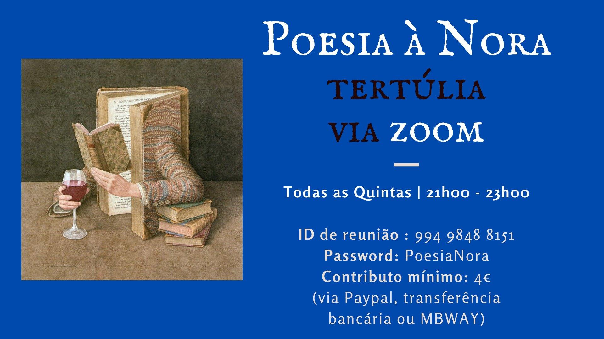 Poesia à Nora   Tertúlia Online de Poesia Livre