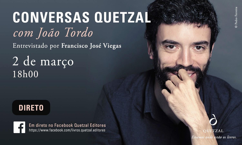 Conversas Quetzal | Com João Tordo