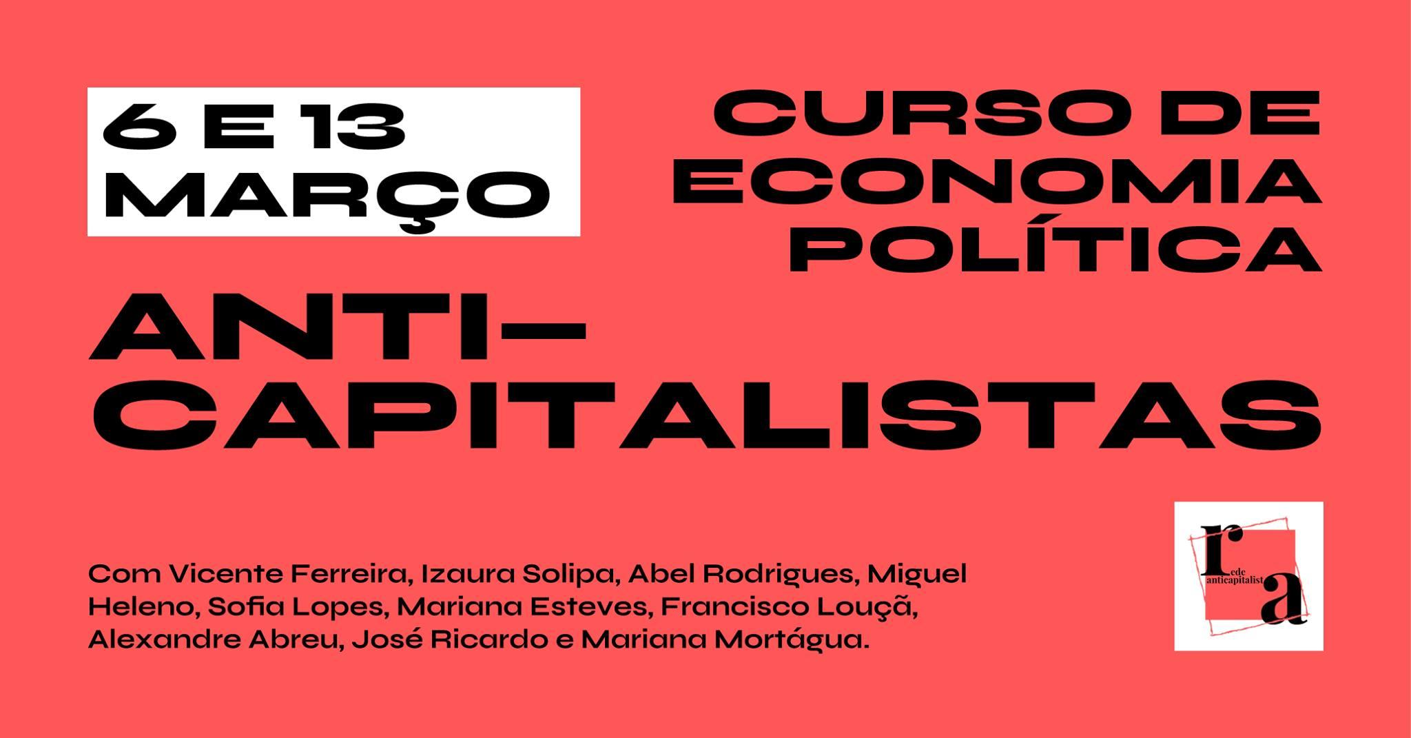 ANTICAPITALISTAS -  Curso de Economia Política