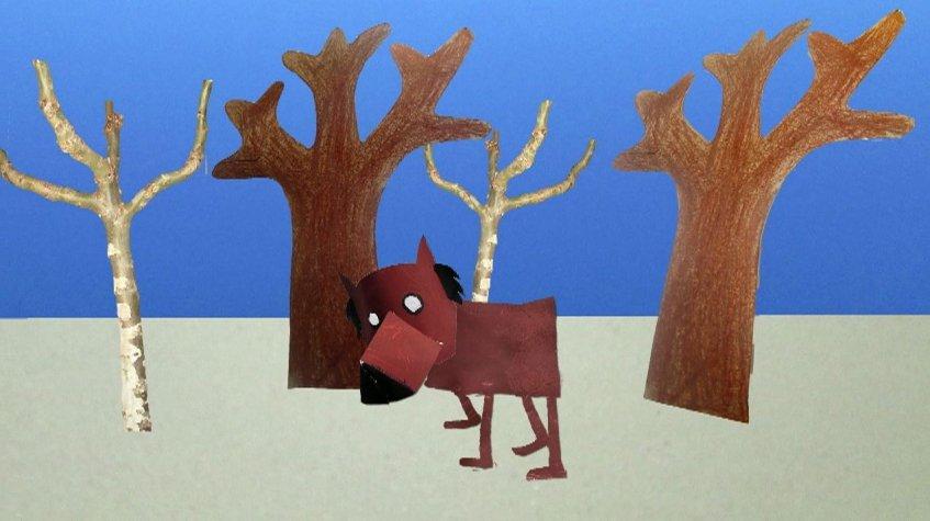 Mas que grande animação - 'O lobo mau tem fome'
