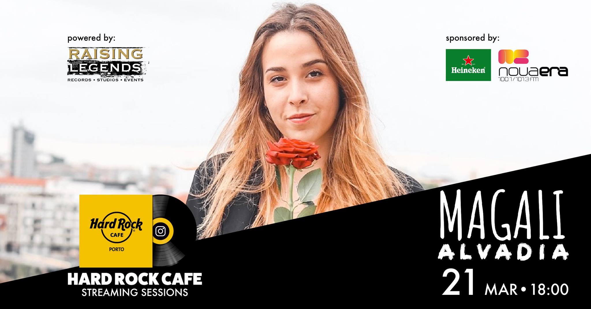 Magali Alvadia | Hard Rock Cafe Streaming Sessions