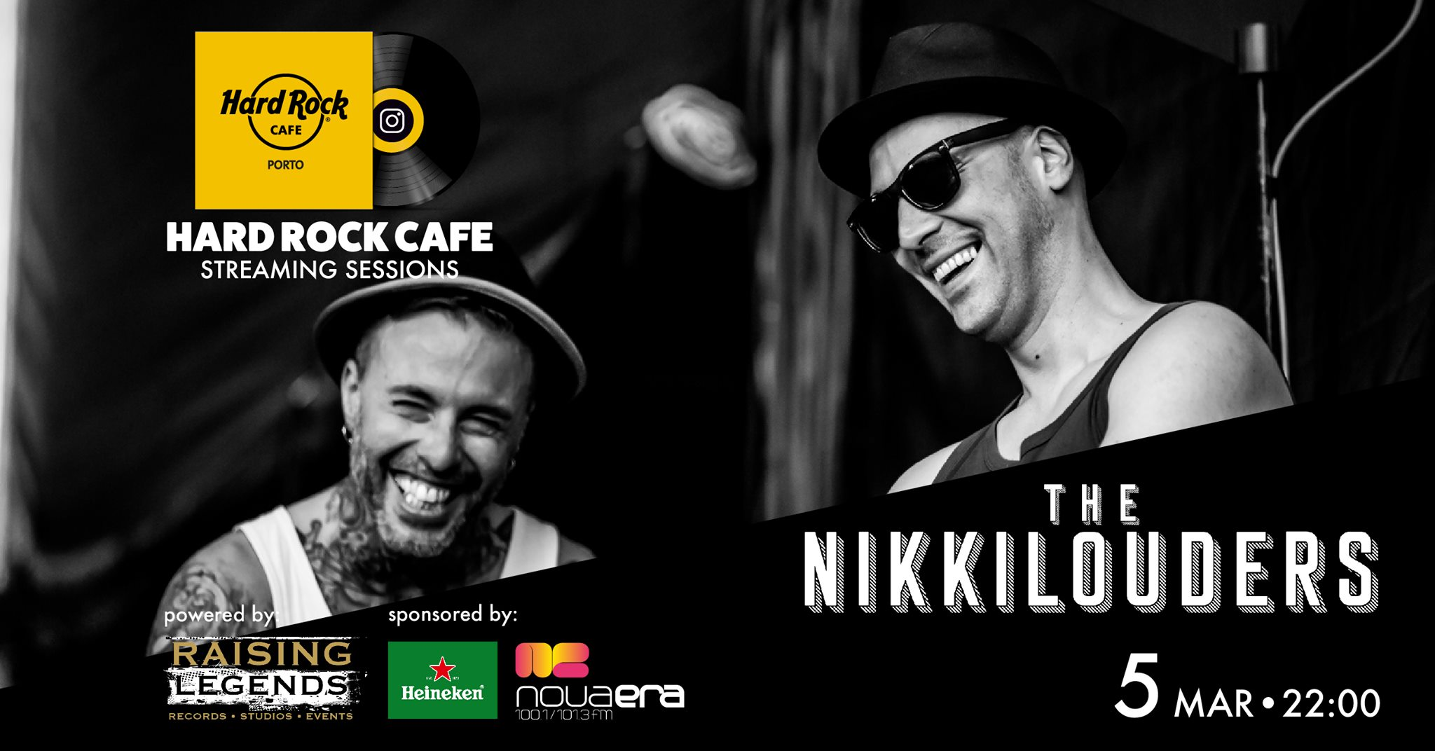 The Nikkilouders | Hard Rock Cafe Streaming Sessions