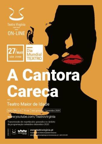 A Cantora Careca . Teatro Maior de Idade (transmissão)