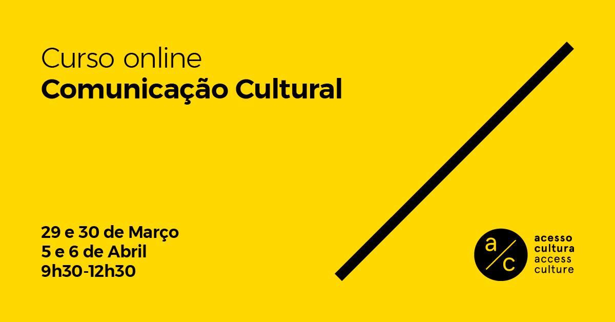 Curso 'Comunicação Cultural'