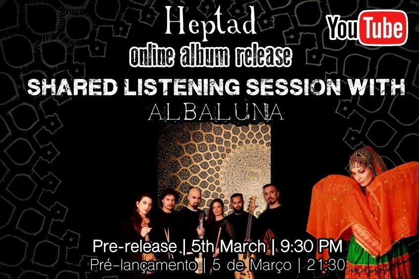 Albaluna | Heptad: Pré lançamento do Álbum