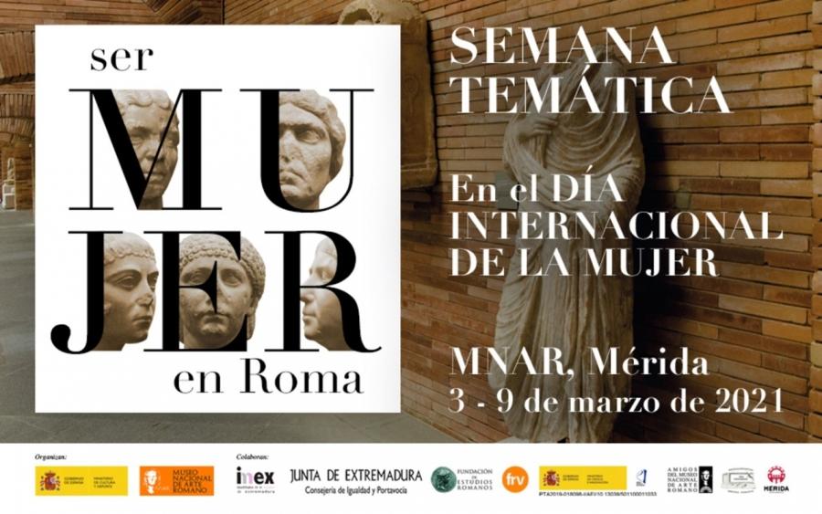 Semana temática: «Ser mujer en Roma»