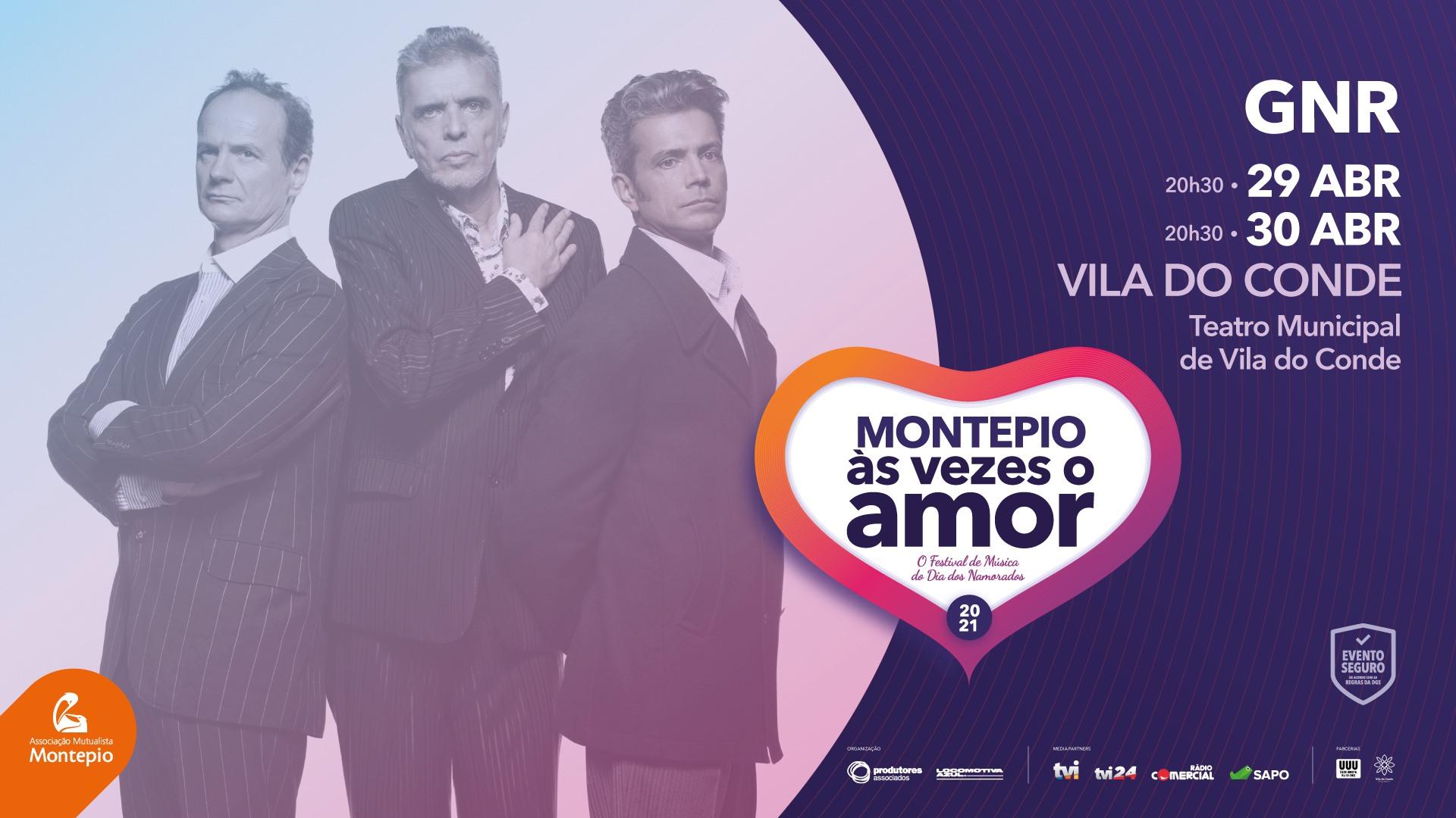 DATA EXTRA - GNR - Montepio Às Vezes o Amor - VILA DO CONDE