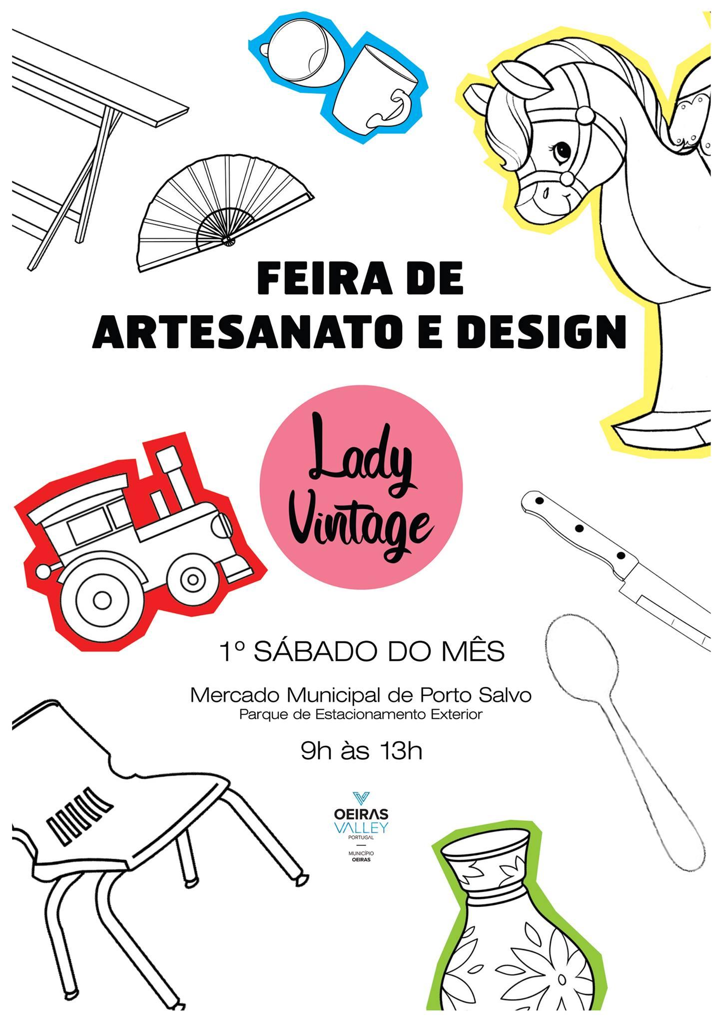 Feira de Artesanato & Design Lady Vintage