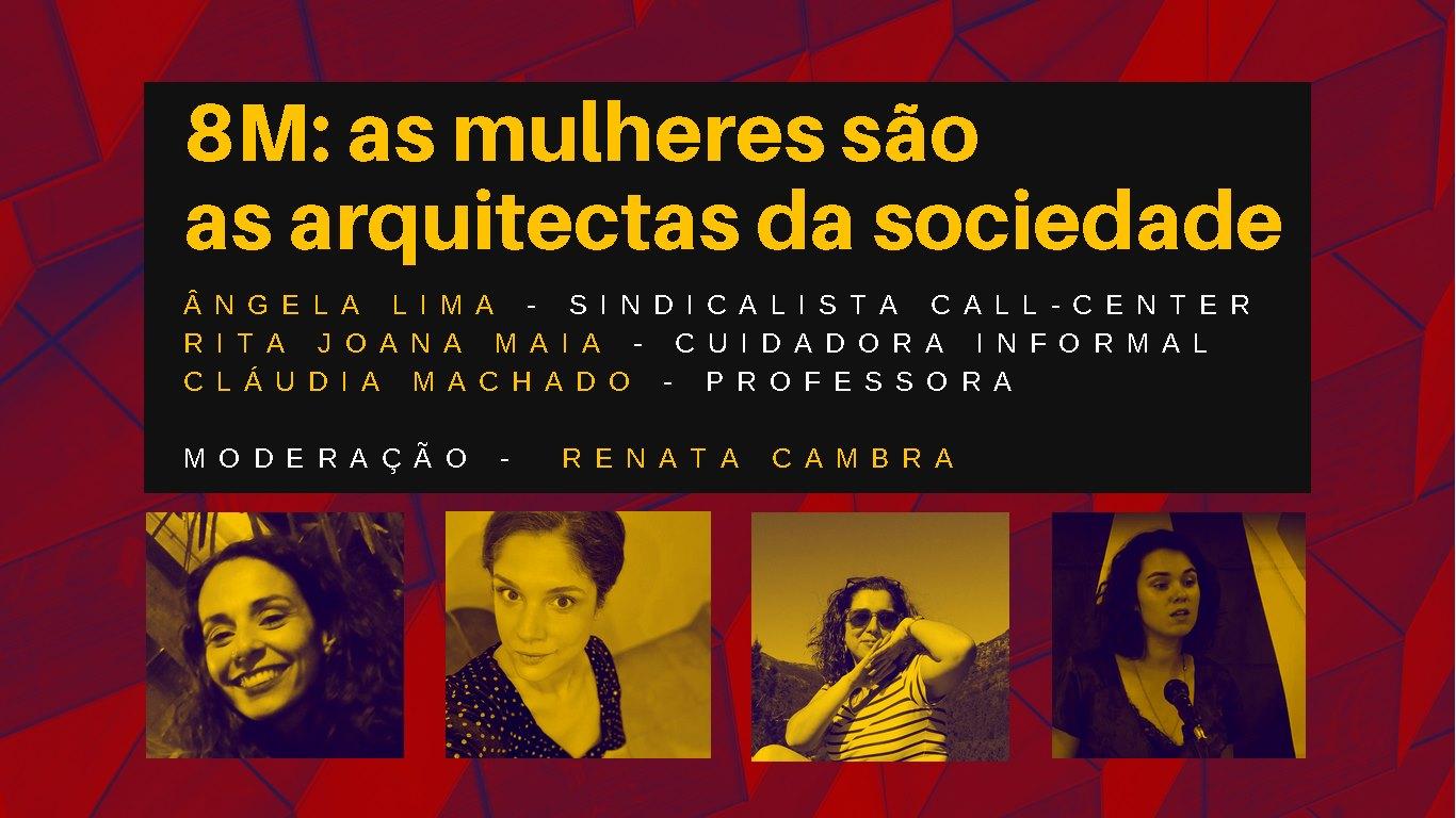 Debate: as mulheres são as arquitectas da sociedade