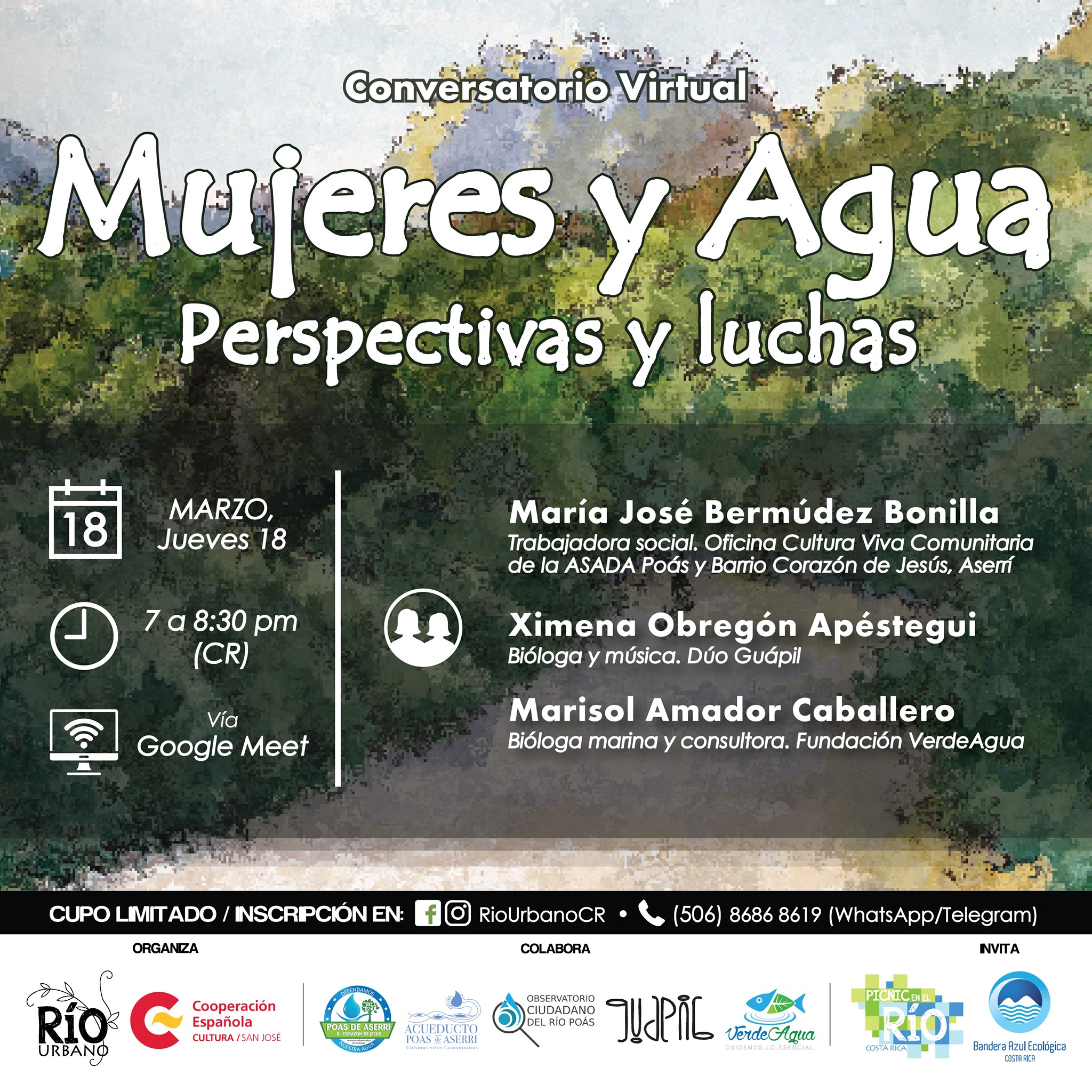 Conversatorio: 'Mujeres y agua: perspectivas y luchas'