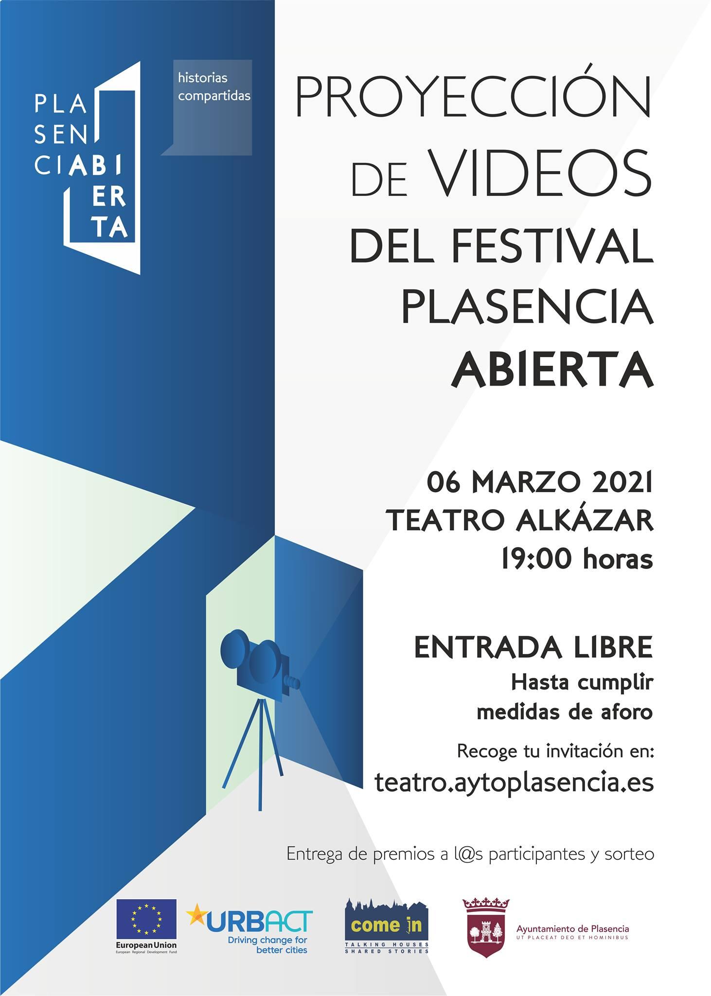 Proyecciones Festival Online de Vídeo 'Plasencia Abierta'