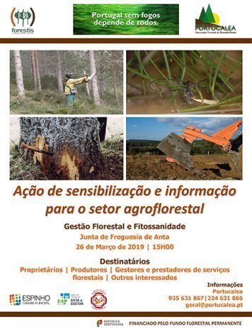 Ação sensibilização/informação setor agroflorestal