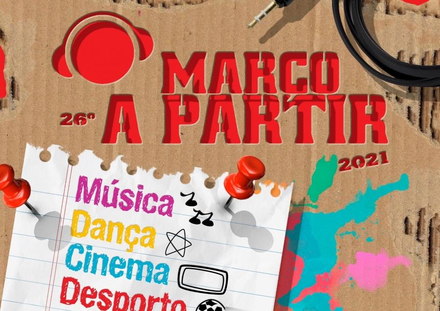 """""""MARÇO A PARTIR"""" Mês da Juventude"""