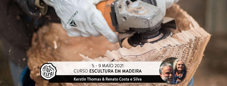 CURSO ESCULTURA EM MADEIRA  | Wood Sculpture Course