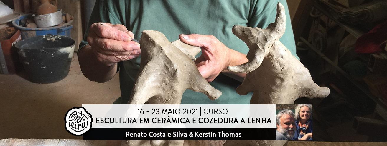 Curso Escultura em cerâmica e cozedura a lenha