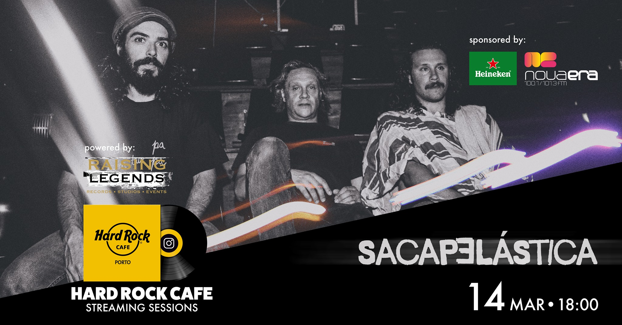 Sacapelástica | Hard Rock Cafe Streaming Sessions