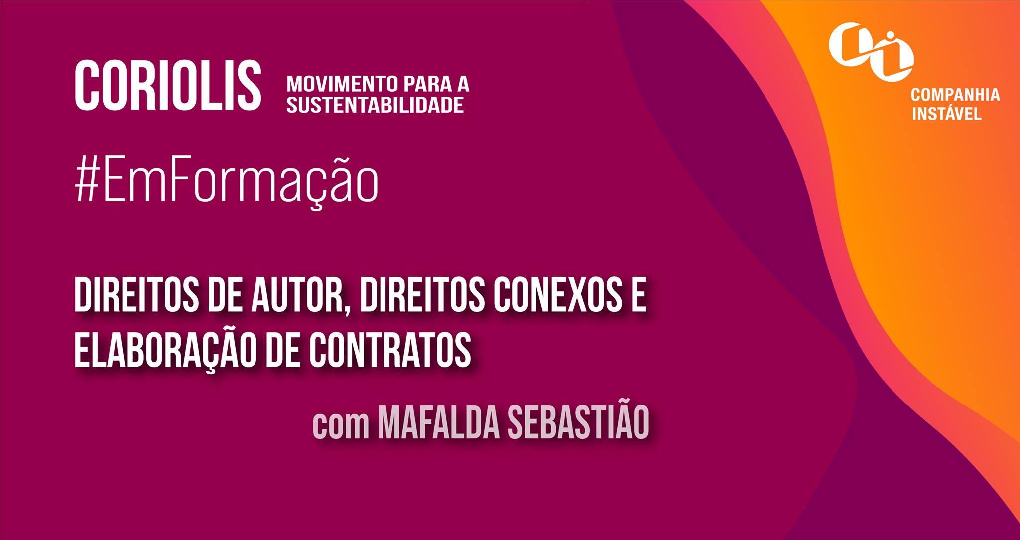 Formação #3: Direitos de autor, direitos conexos e elaboração de contratos