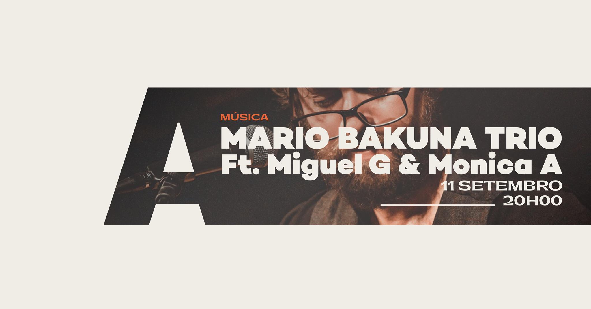 Bossa Nova & Samba Jazz Night - Mario Bakuna Trio - Live in Aveiro/Portugal -Ft. Miguel G & Monica A