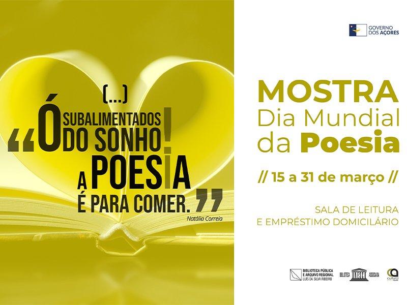 Dia Mundial da Poesia
