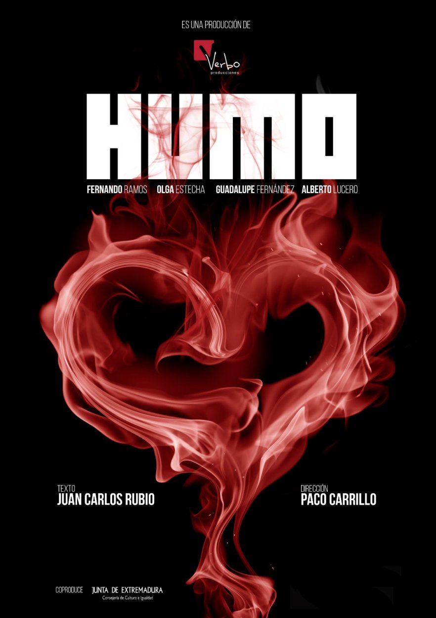 Humo. Teatro en el CC La Merced con Fernando Ramos y Verbo Producciones