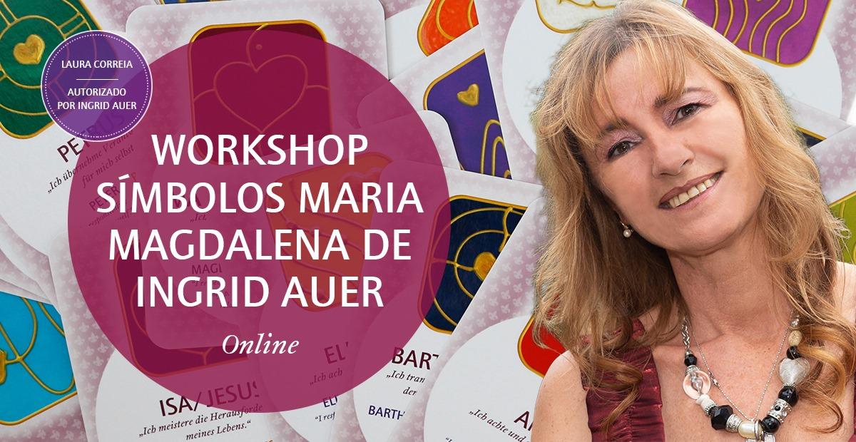 Online | Workshop Símbolos Maria Madalena de Ingrid Auer®