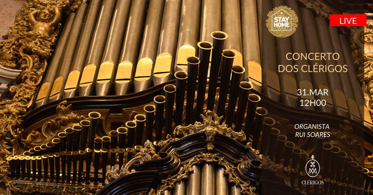 Concerto de órgão de tubos dos Clérigos