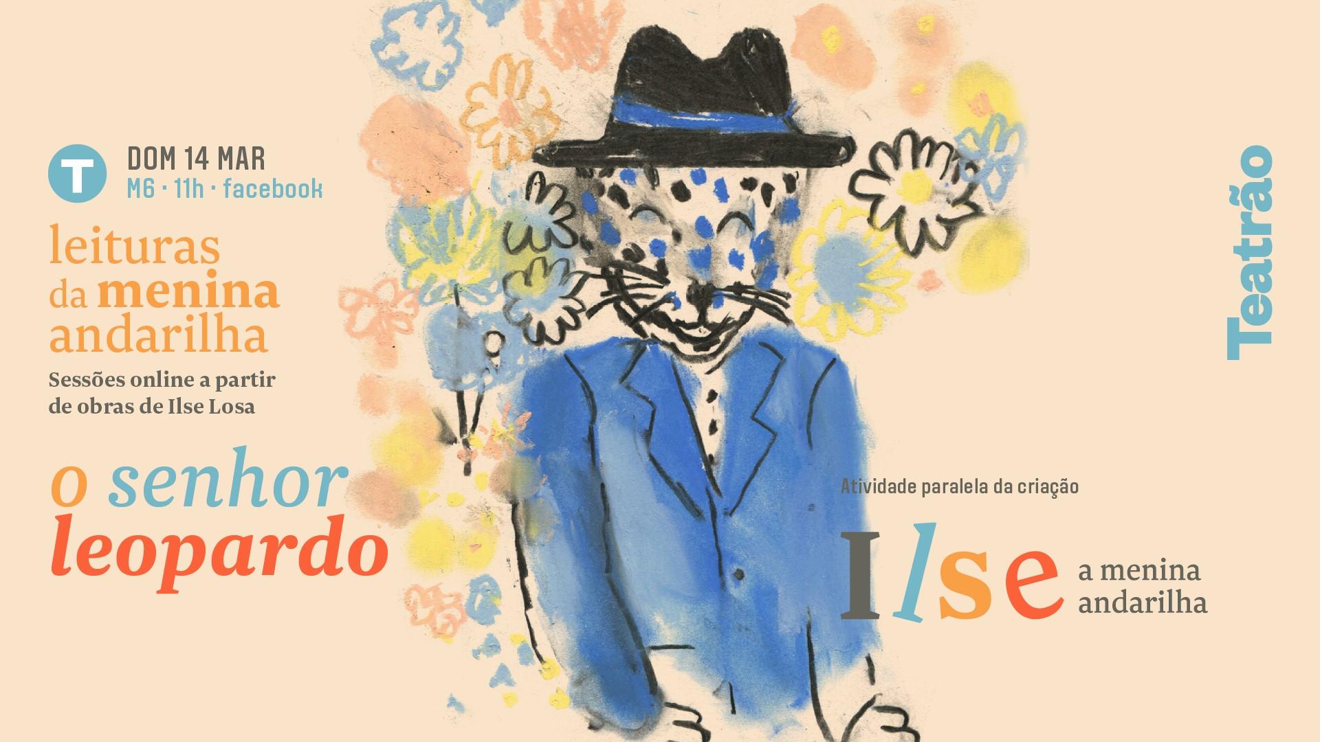 Leituras da Menina Andarilha: O Senhor Leopardo