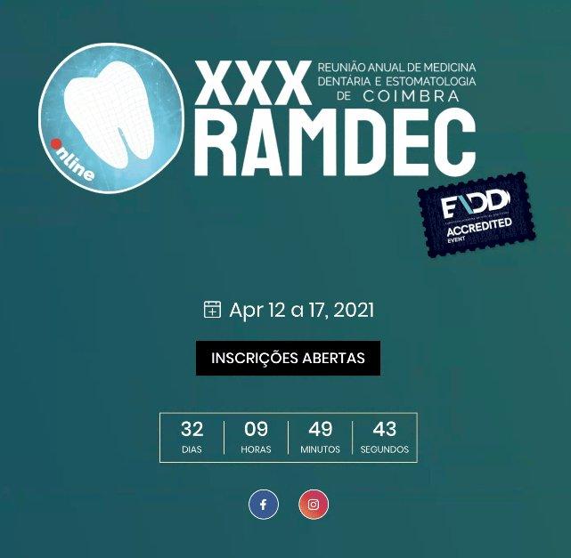 XXX Reunião Anual de Medicina Dentária  e Estomatologia de Coimbra