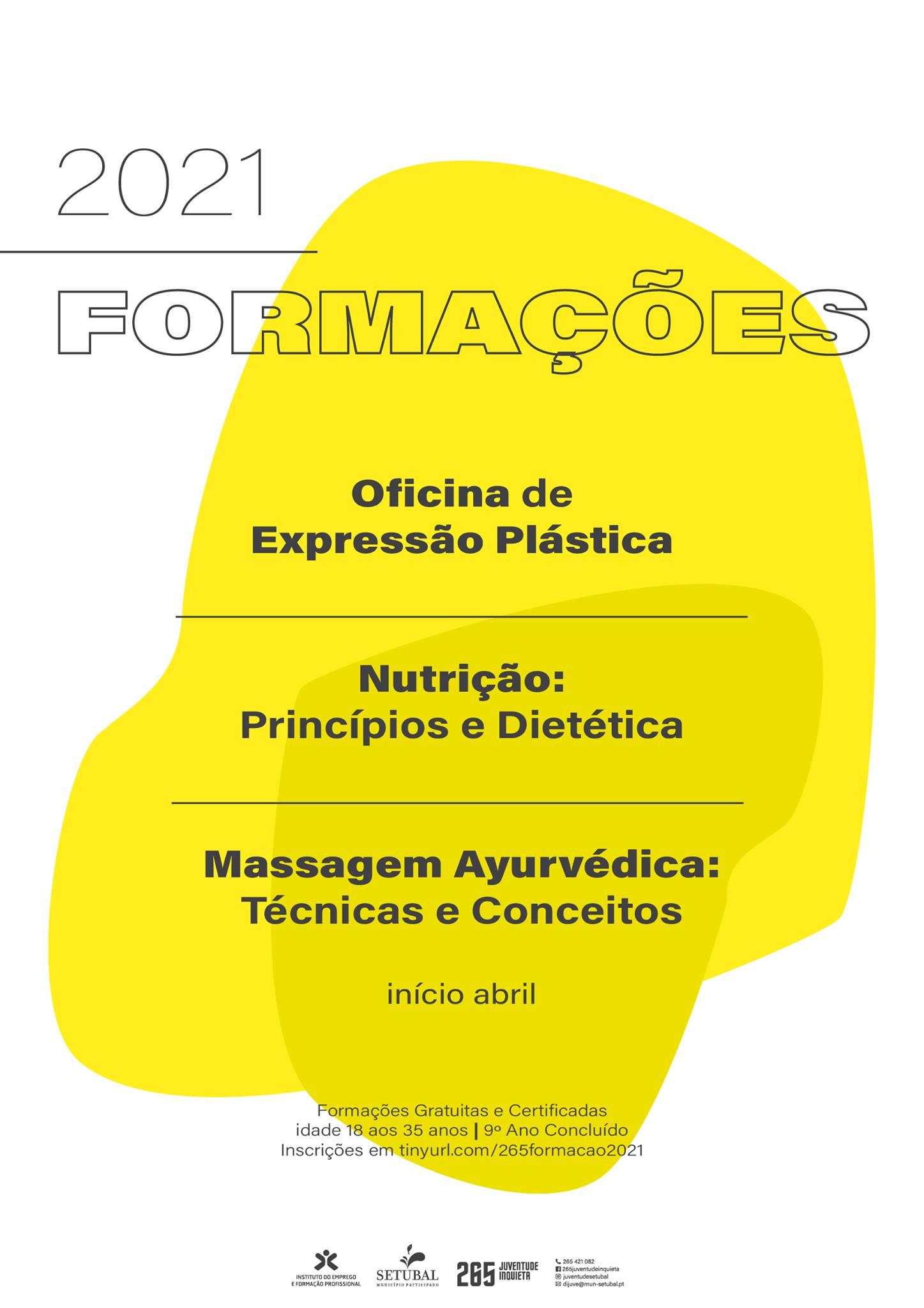 Formações 2021: Nutrição - Princípios e Dietética