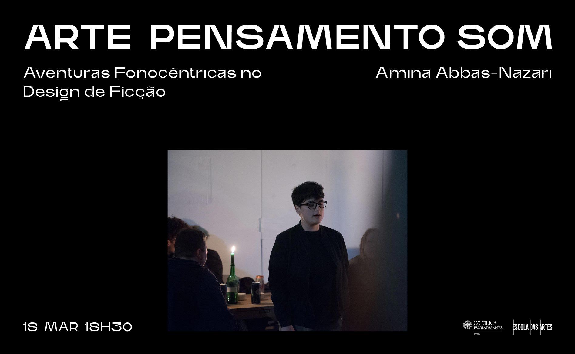 Amina Abbas-Nazari · Aventuras Fonocêntricas no Design de Ficção (On-Line Lecture))