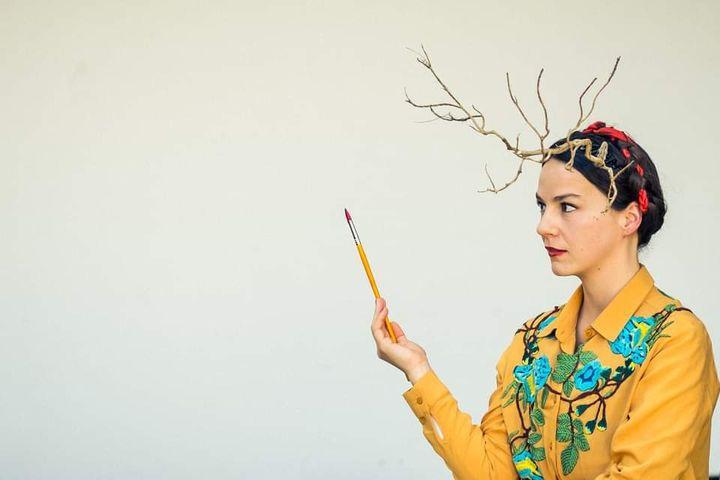 Ciclo Antiprincesas | Frida Kahlo, de Cláudia Gaiolas