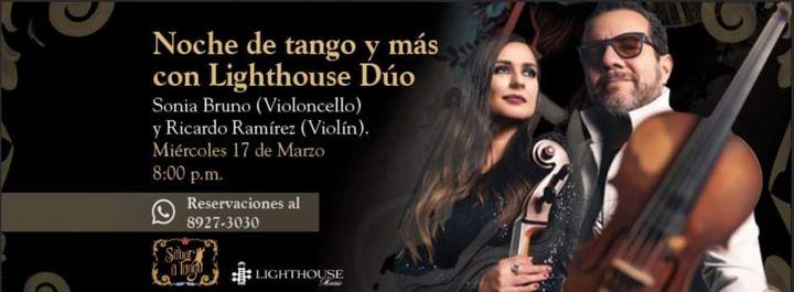 Noche de tango y más con Lighthouse Dúo