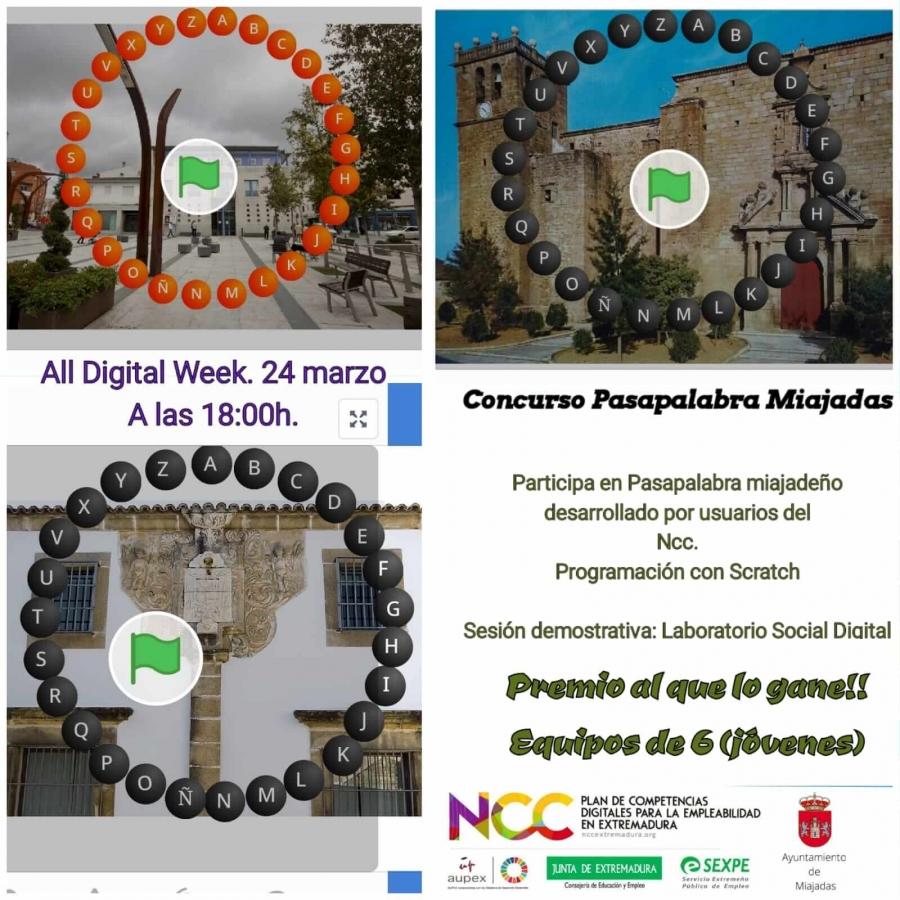 """Concurso Virtual """"Pasapalabra"""""""