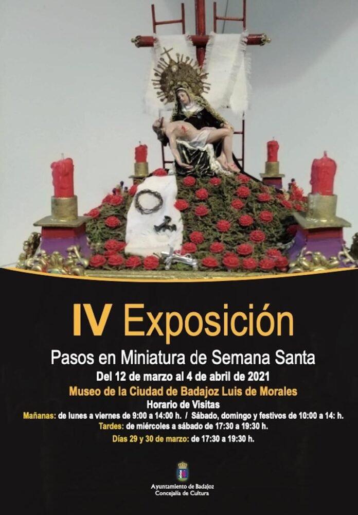 IV Exposición en Miniatura de Semana Santa   BADAJOZ