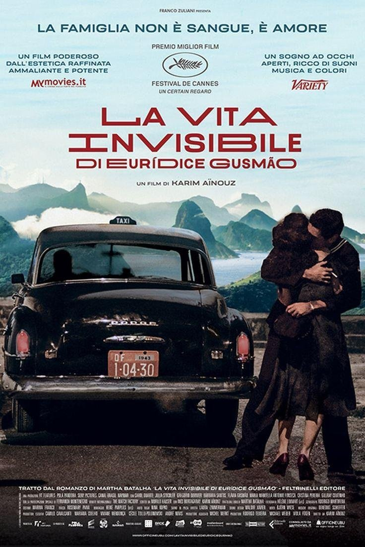 Cine Filmoteca: «La vida invisible de Euridice Gusmao»