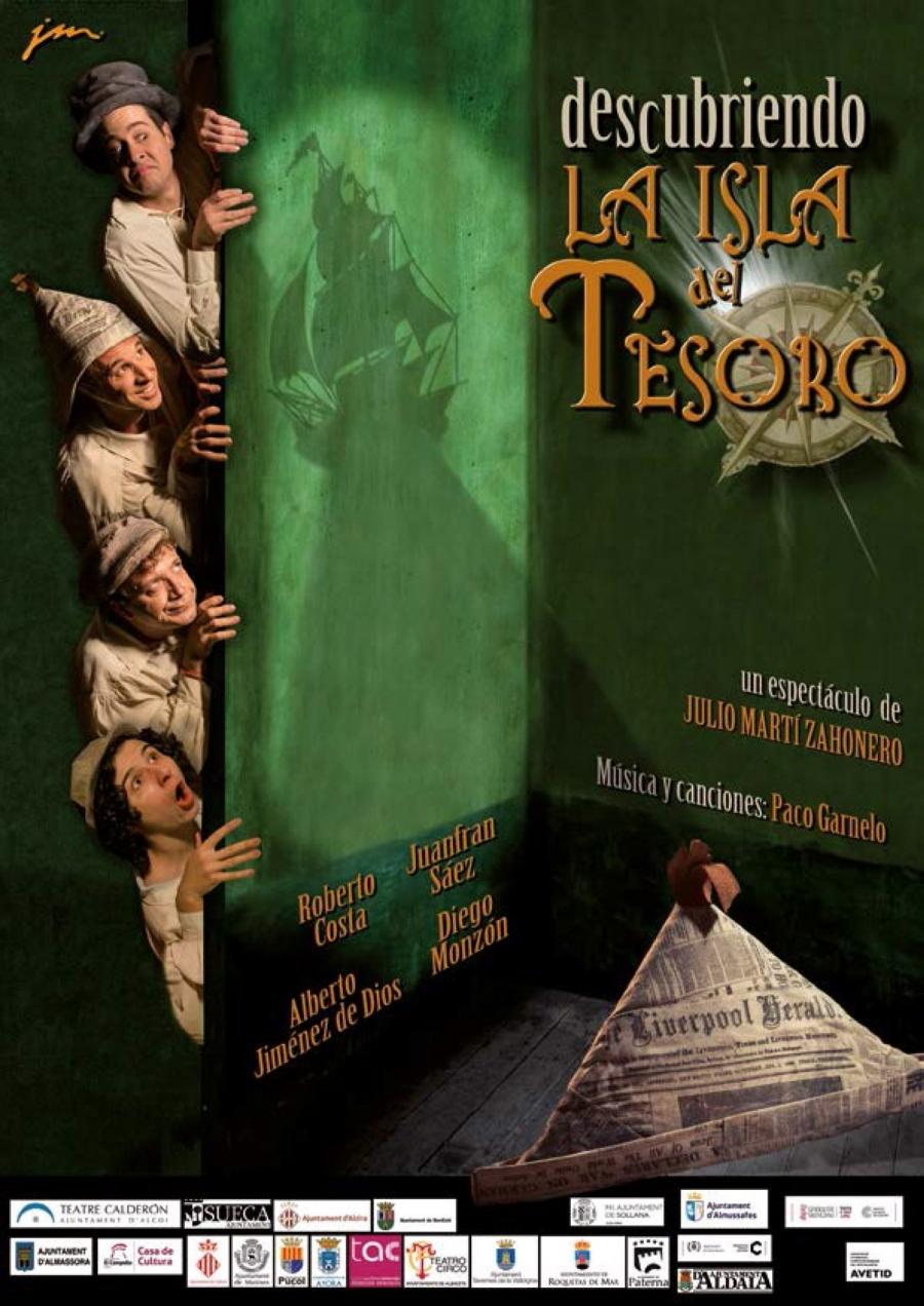 Teatro familiar: «Descubriendo la isla del tesoro»