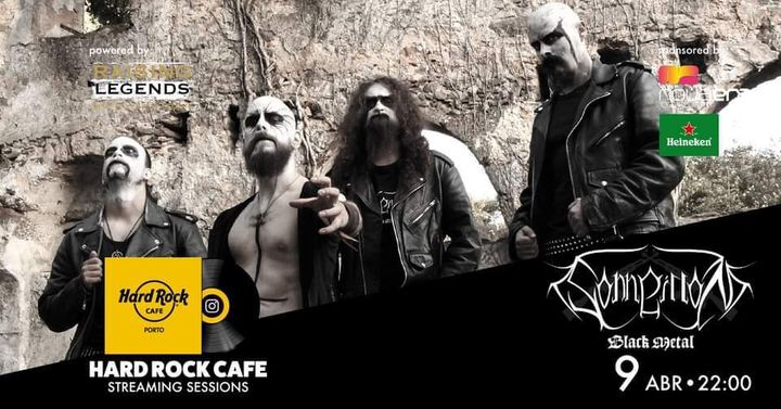 Sonneillon Black Metal | Hard Rock Cafe Streaming Sessions