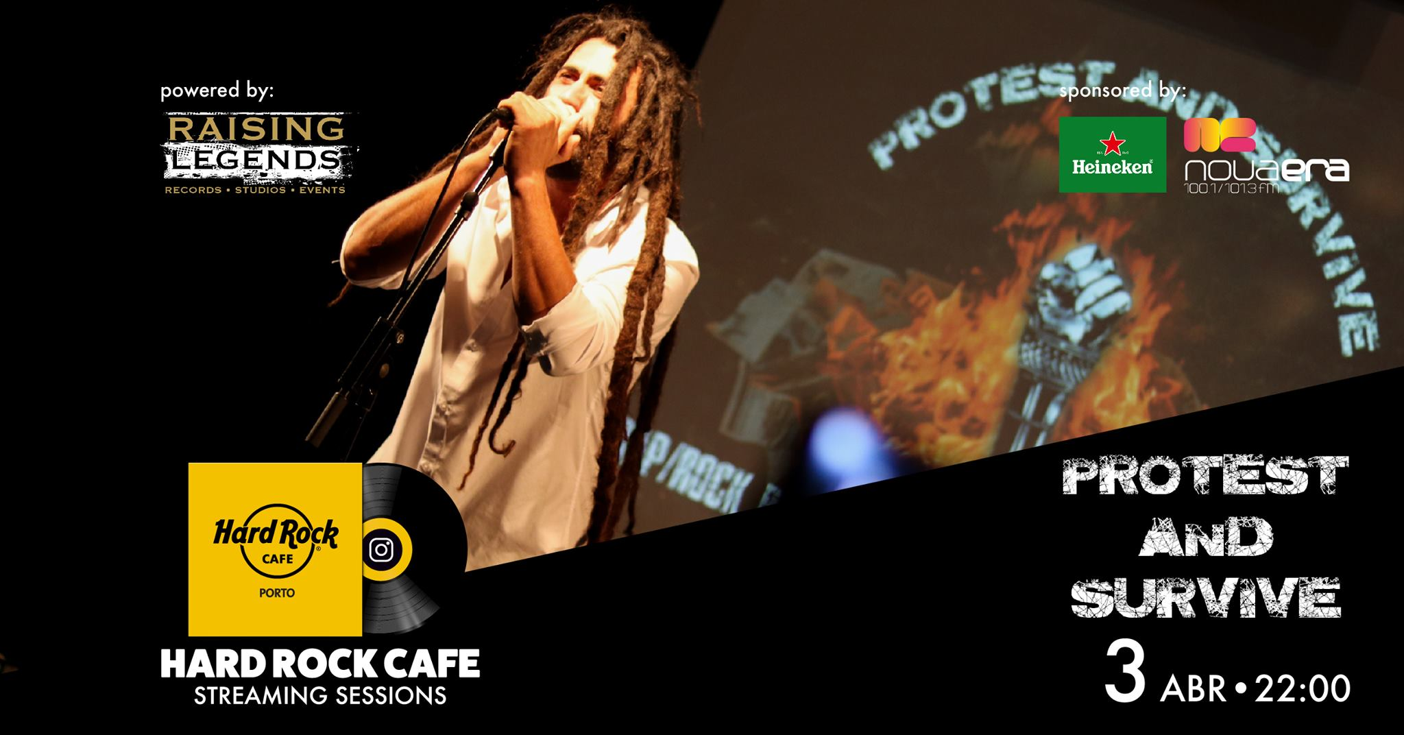 Protest and Survive | Hard Rock Cafe Streaming Sessions