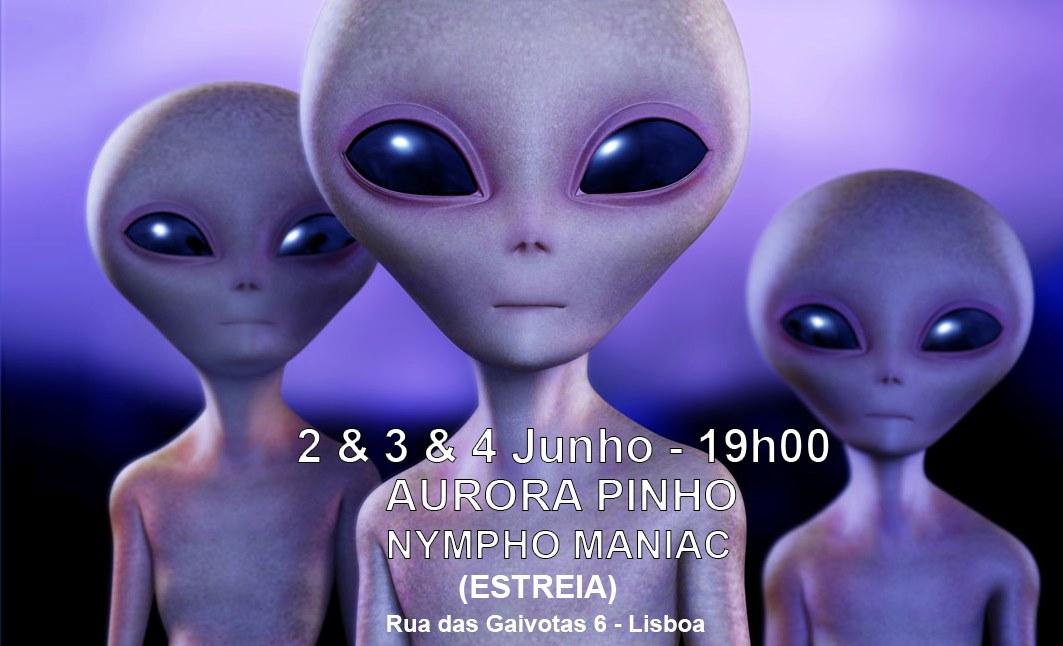 Nympho Maniac ⬤ Aurora Pinho