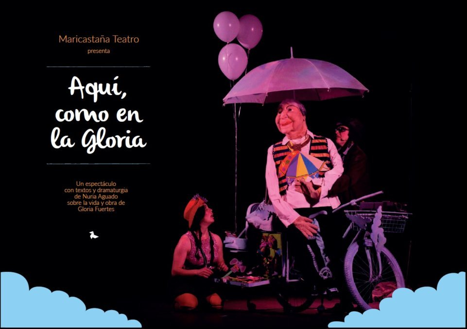 Teatro familiar: «Aquí, como en la gloria»