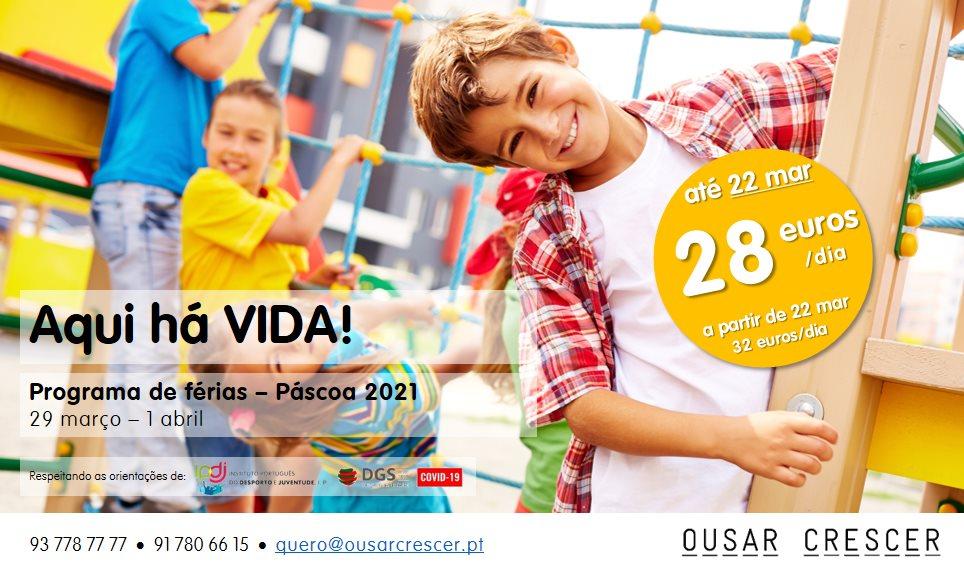 Programa de Férias de Páscoa 2021