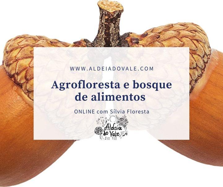Agrofloresta e bosque de alimentos ONLINE