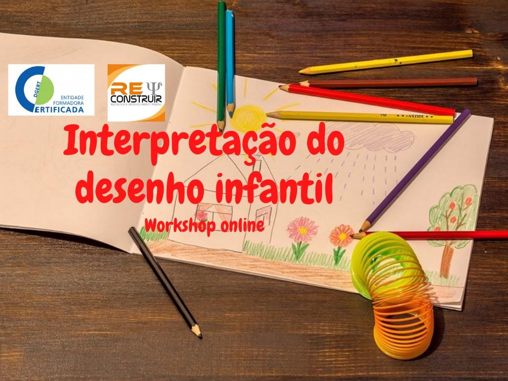 Workshop Online - 'Interpretação do Desenho Infantil' - 10ªed