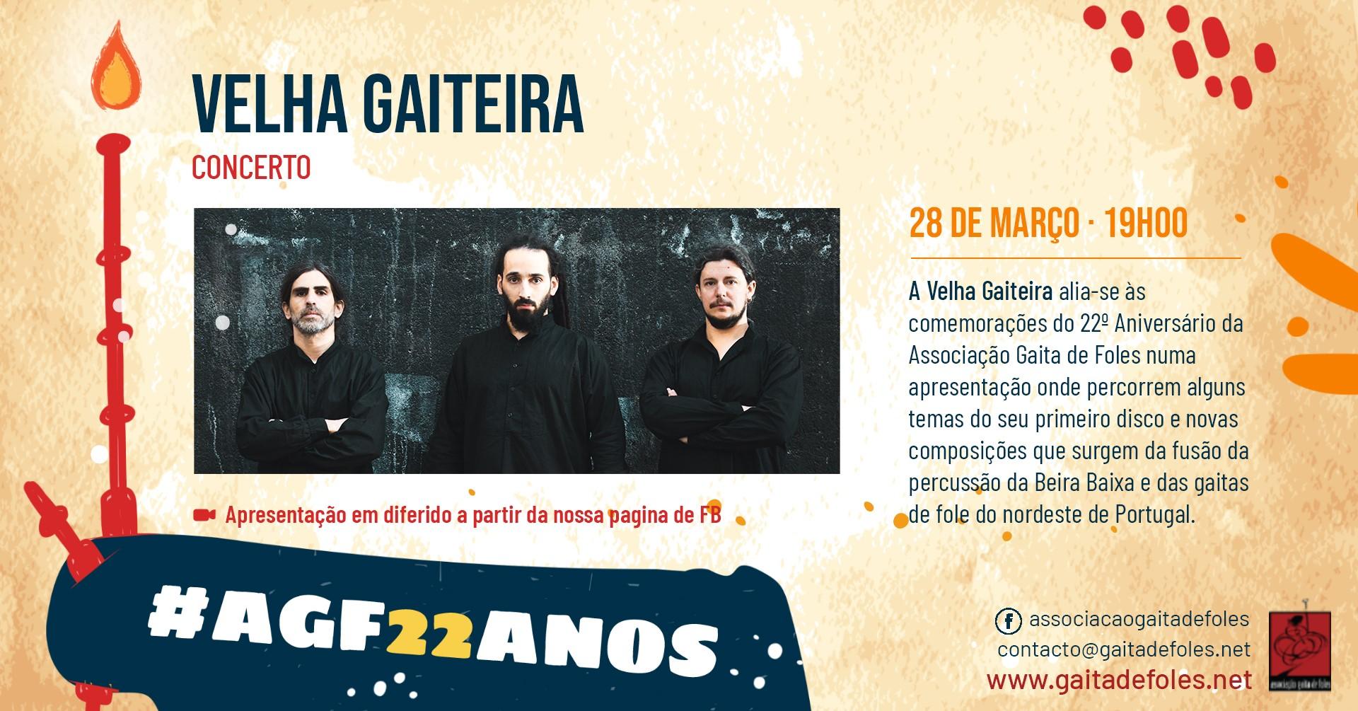 Velha Gaiteira - Concerto On-line