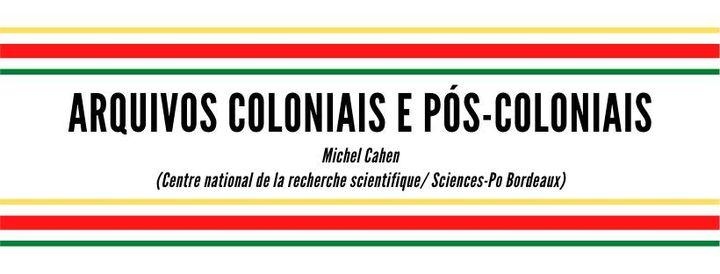 Arquivos coloniais e pós-coloniais